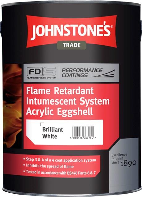 Flame Retardant Intumescent Upgrade System - Acrylic Eggshell