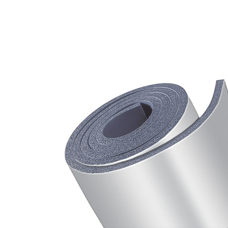 Kaiflex Protect Alu-NET Continuous Sheet Covering on Kaiflex ST