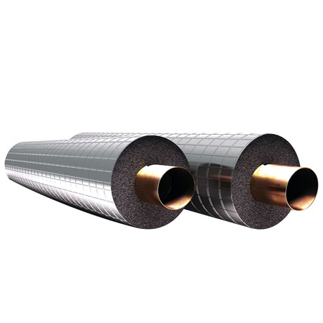 Kaiflex Protect Alu-NET Tube Covering on Kaiflex ST