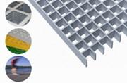 Lichtgitter GRP Open Grating Panel Fixed Sizes