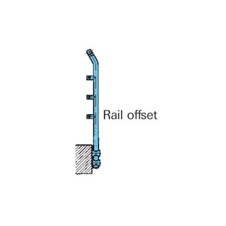 General Spectrum Balustrade System: Rail Offset