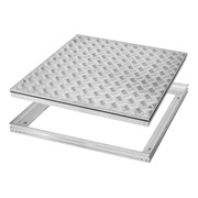 5 Bar Series tread plates (Aluminium) Single Cover