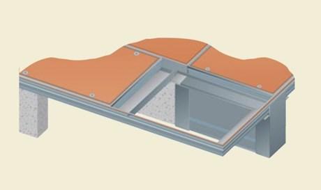 Visedge Series Cover (Aluminium) Duct