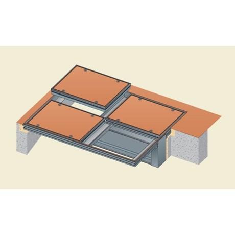 Visedge Series Cover (Aluminium) Multipart