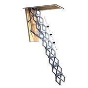 Bilco Ladders BL-ZBOX -Retractable Ladder with insulated trapdoor