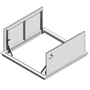 Bilco Non Drainage Doors Type KD Double Leaf - KD
