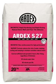 ARDEX S 27 Natural Stone Tile Adhesive