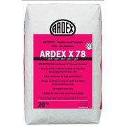 ARDEX X 78 Semi-Pourable Floor Tile Adhesive