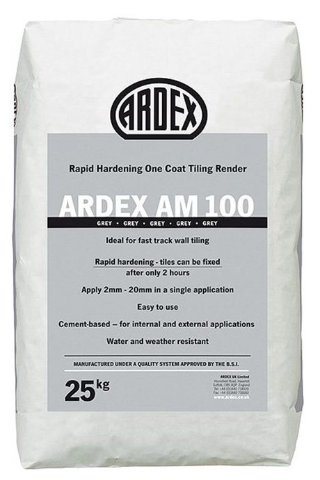 ARDEX AM 100 One Coat Tiling Render