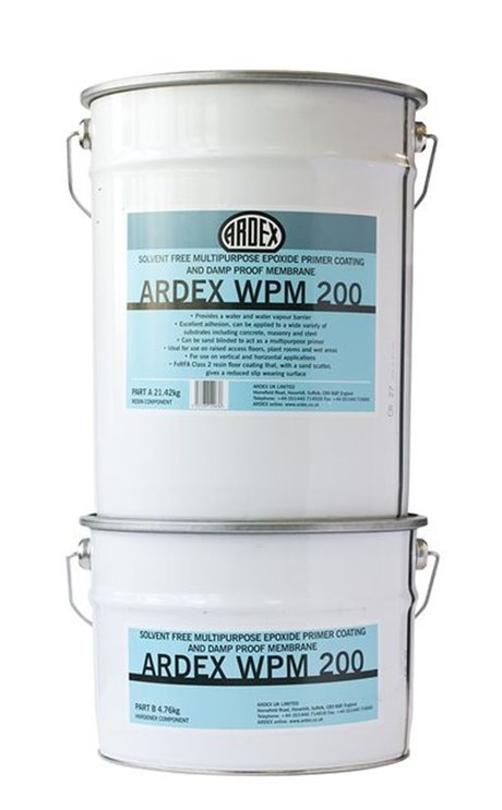 ARDEX WPM 200 Primer and DPM