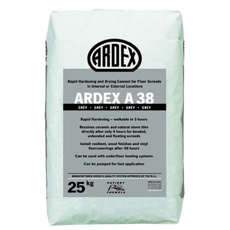 ARDEX A 38 Ultra Rapid Drying Screed Cement