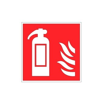 Location of fire extinguisher