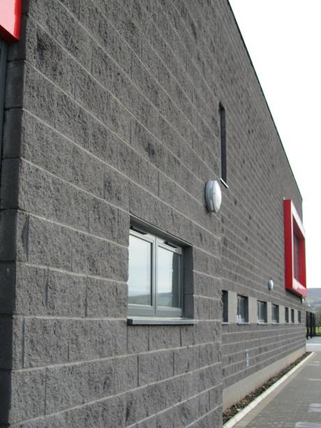 Split Solid Block -Aggregate concrete blocks