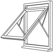 Fully Reversible Window System - FRW1