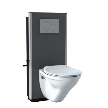 SELECT Toilet Lifter - manual with floor outlet