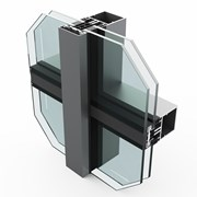 SF52 Vertical Curtain Wall System