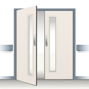 Postformed Double Swing Doorset - Vision Panel 5