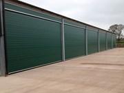 Industrial overhead sectional door - S Door - Standard Track