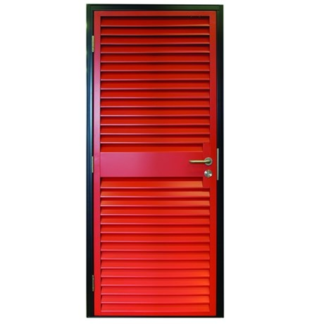Armourdoor Louvred Steel Door AD30 - Single