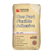 One Part Flexible White Adhesive