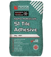 Rapid Porcelin Grey S1 Tile Adhesive