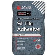 Rapid Porcelin White S1 Tile Adhesive