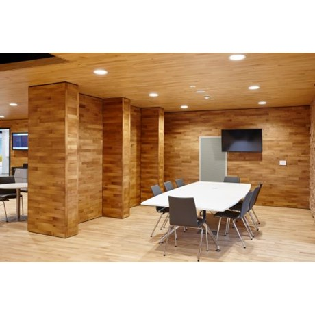 14 mm and 22 mmparquet strip hardwood flooring system