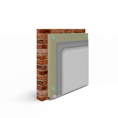Masonry – EWI (Mineral Wool) – Silicone Render