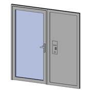 Premier Vision - Single Door + Side Panel
