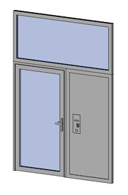 Premier Vision - Single Door + Side Panel + Top Panel