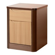 Acumen 1 Door 1 Drawer Bedside Cabinet