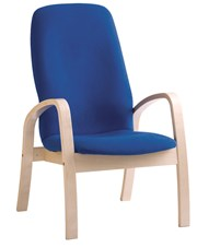 Oskar Arm Chair High Back