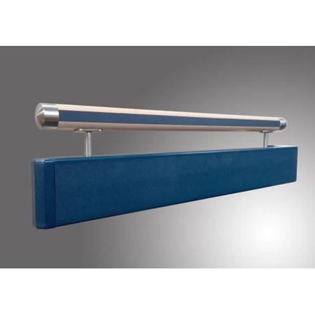 Guardian Twin Handrail Timber: 125PR