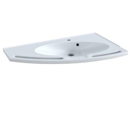 MATRIX Angle Wash Basin - left-facing
