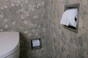 Roll holder square - Toilet roll holder