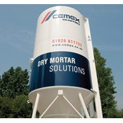 CEMEX dry silo mortar