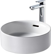Fusaro Vessel Basin 38X38 White OF NTH Rnd