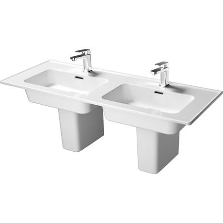 Fusaro Vanity Basin 120 White