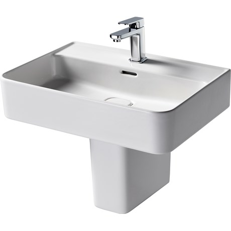 Fusaro Basin 60 White 1TH WHG