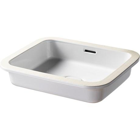 Fusaro U/C Basin 50X40 White NTH