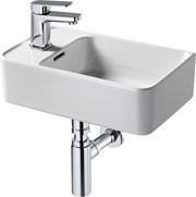 Fusaro H/R Basin 45 White 1TH L/Handed