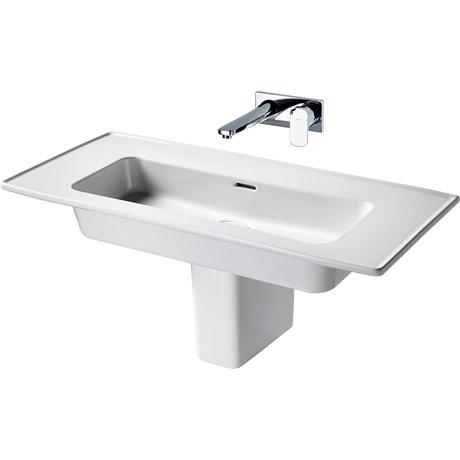 Fusaro Vanity Basin 100 White NTH