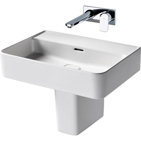 Fusaro Basin 50 White NTH WHG