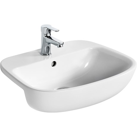 Studio Echo Semi-Countertop Basin 55X43 White BXD
