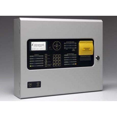 ExGo Three Zone Automatic Gas Extinguishing Panel - Control panel