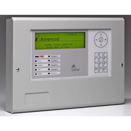 MxPro 4 Remote Terminal Fire Alarm Display Terminal