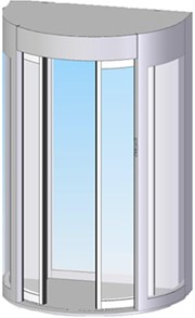 HiSec 9 Lite Full Height Security Booth - 900 mm Walkway