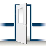 Postformed Single Doorset - Vision Panel 13