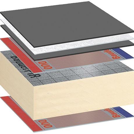 Bauder LiquiTEC Warm Roof System - Cold Applied