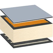 Bauder Thermoplan FPO Warm Roof System - Adhered